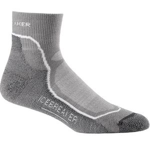 Icebreaker Men's Hike + Light Mini Socks - Fossil
