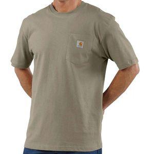 Carhartt Men's Workwear Pocket Short Sleeve T-Shirt - Desert