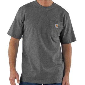 Carhartt Men's Workwear Pocket Short Sleeve T-Shirt - Carbon Heather