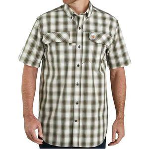 Carhartt Men's Force Relaxed Fit Short Sleeve Shirt - Moss
