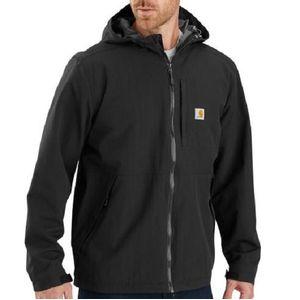 Carhartt Men's Storm Defender Hooded Jacket - Black