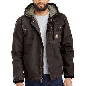 Carhartt Men's Washed Duck Bartlett Jacket - Dark Brown