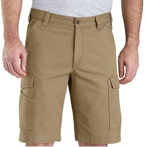 Carhartt Men's Rugged Flex Relax Fit Rigby Short - Dark Khaki