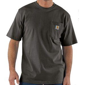 Carhartt Men's Workwear Pocket Short Sleeve T-Shirt - Peat