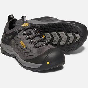 Keen Men's Flint II Sport (Carbon-Fiber Toe) Work Shoes - Iron/Black