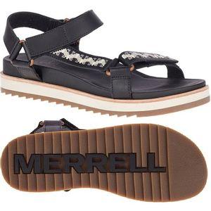 Merrell Women's Juno Strap Sandals - Black