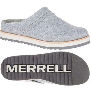 Merrell Women's Juno Wool Clogs - Charcoal