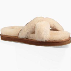 Ugg Women's Abela Slippers - Natural