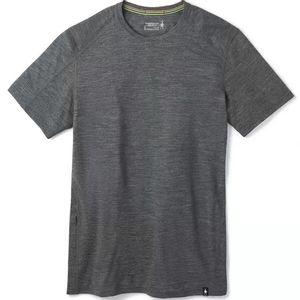 Smartwool Men's Merino Sport 150 Hidden Pocket Tech Tee - Medium Grey Heather