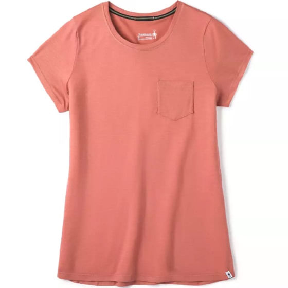 Smartwool-Women-s-Merino-Sport-150-Pocket-Tee---Canyon-Rose-243917
