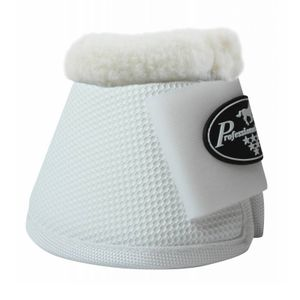 Professional's Choice All Purpose Bell Boots w/Fleece - White