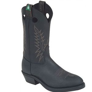 Canada West 5289EEE Men's CSA Loggertan ST/SP Boots - Black