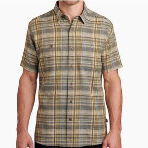 Kuhl Men's Skorpio Shirt Short Sleeve - Everglades