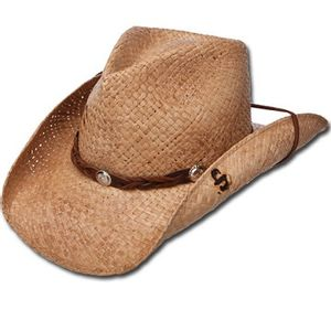 Stetson Comstock Straw Hat - Natural