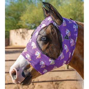 Professional's Choice Comfort Fit Fly Mask - Unicorn