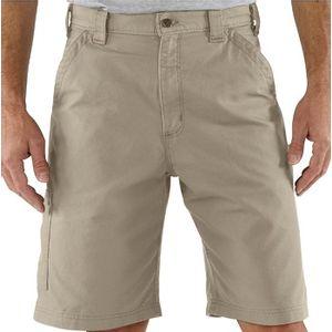 Carhartt Men's Canvas Work Shorts - Tan
