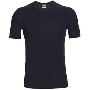 Icebreaker Men's Everyday Short Sleeve Crewe - Black