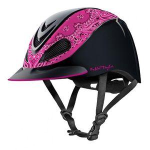 Troxel Fallon Taylor Riding Helmet - Pink Bandana