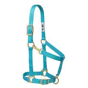 Weaver Basic Adjustable Halter - Turquoise