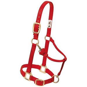 Weaver Original Adjustable Halter - Red
