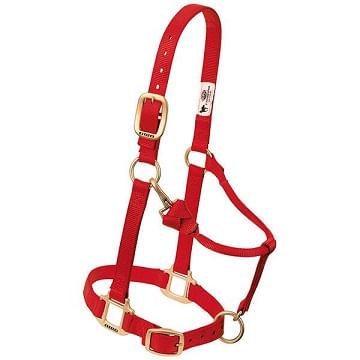 Weaver-Original-Adjustable-Halter---Red-94235