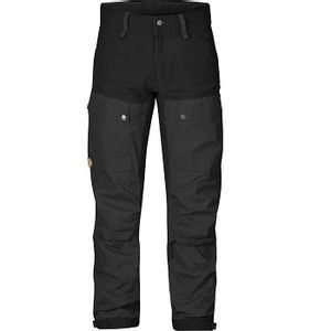 Fjallraven Men's Keb Trousers - Black/Dark Grey