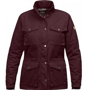 Fjallraven Women's Raven Winter Jacket - Dark Garnet