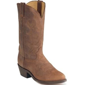 "Durango Men's Soft Tan Western 12"" Boots - Distress Brown"