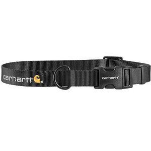 Carhartt Tradesman Nylon Dog Collar - Black/Brass