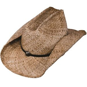 Outback Trading Buckaroo Straw Hat - Tea
