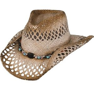 Outback Trading Mequite Straw Hat - Tea