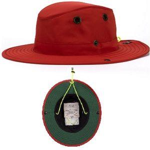 Tilley TWS1 Paddler's Hat - Red