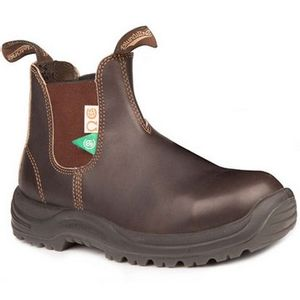 Blundstone CSA Greenpatch Steel Toe Boot(162) - Brown