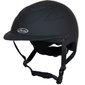 Lami-Cell Ventex Riding Helmet - Black