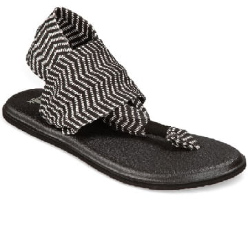 Sanuk-Women-s-Yoga-Sling-2-Prints-Sandals---Black-Natural-Congo-72969
