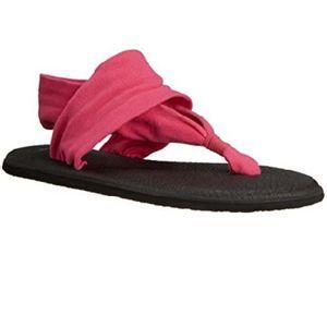 Sanuk Women's Yoga Sling 2 Prints Sandals - Magenta