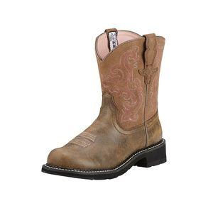 Ariat Women's Fatbaby II Western Boots - Brown Bomber