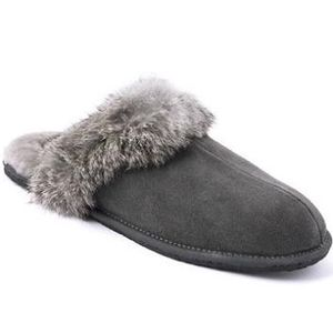 Manitobah Mukluks Women's Igloo Slippers - Charcoal