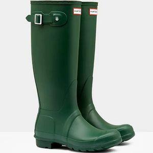 Hunter Original Tall Boots - Hunter Green