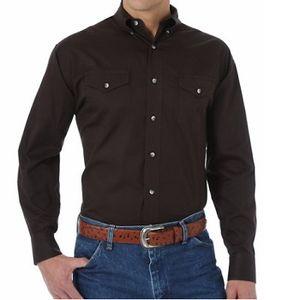 Wrangler Men's Painted Desert Western Dress Shirt - Black