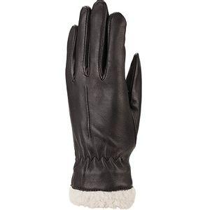 Auclair Women's Berber Boa Gloves - Black