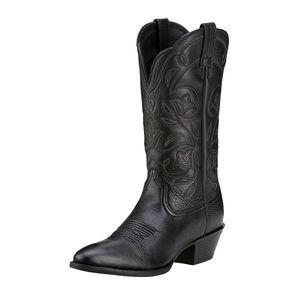 Ariat Women's Heritage Western R Toe Boots - Black