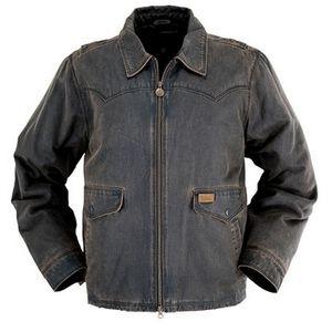 Outback Trading Men's Landsman Jacket - Bison Brown