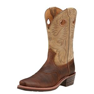 Ariat Men's Heritage Roughstock - Earth Brown