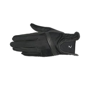 Horze Evelyn Summer Riding Gloves - Black