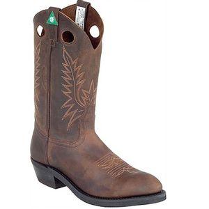 Canada West 5291 CSA Boots - Copper Crazy Horse