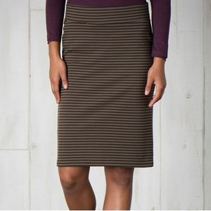 Toad & Co Women's Transito Skirt - Rosin Stripe