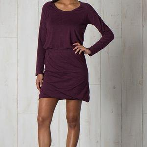 Toad & Co Women's Allisa Long Sleeve Dress - Tyrian Purple