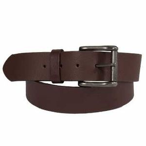Keldon Volgrass Roller Buckle Belt - Brown