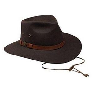 Outback Trading Kodiak Oilskin Hat - Black